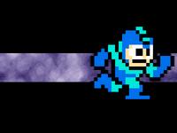 Megaman 8 bit Wallpaper by Icyfrodo