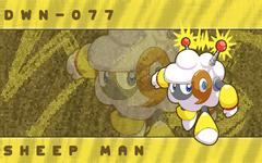 Sheep Man Wallpaper by Kirby RS