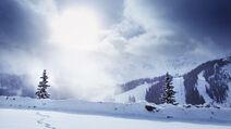 HP Snow Background