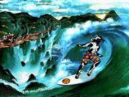 Gateway 2000 Surfing Cow