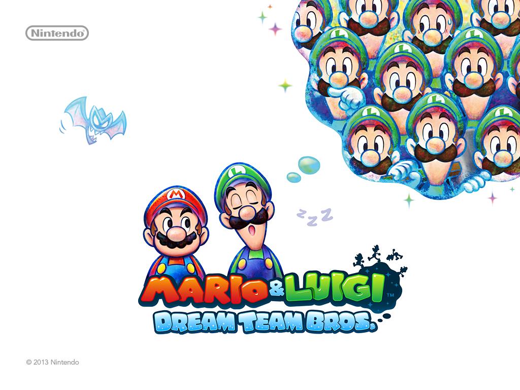Mario Luigi Dream Team Bros Wallpaper 2 Wallpapers Wiki