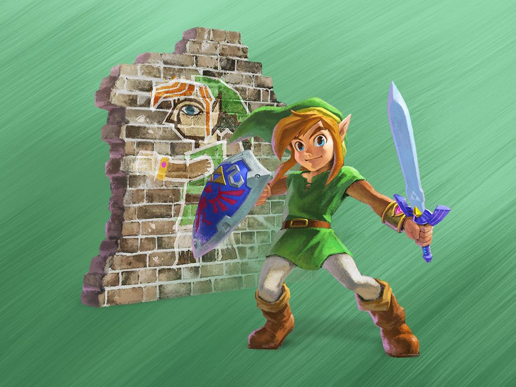 The Legend Of Zelda A Link Between Worlds Wallpaper 4