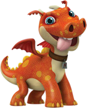 Norville the Dragon from Wallykazam!