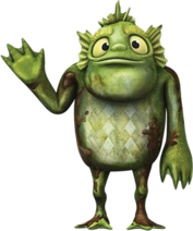 Stan of the Swamp from Wallykazam!