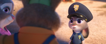 Young judy sees her parents