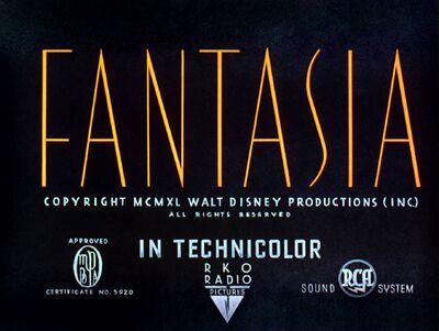 Fantasia title card