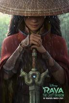 Raya and the Last Dragon Teaser Poster