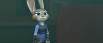 Judy sees emmit in the giant computer screen