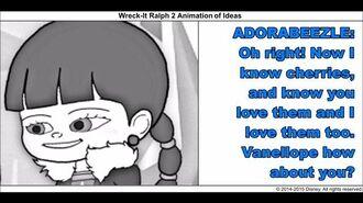 Wreck-It Ralph 2 Animation of Ideas