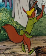 Robin hood jumps with clothes 2