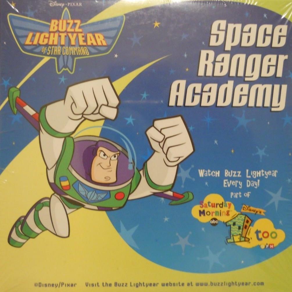Disney Pixar Buzz Lightyear's Space Ranger Academy (2001
