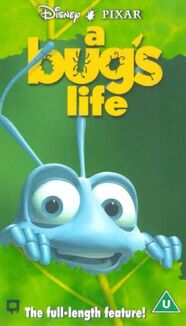 A Bug's Life (UK VHS 1999)