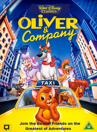 Oliver and Company UK VHS (1996)