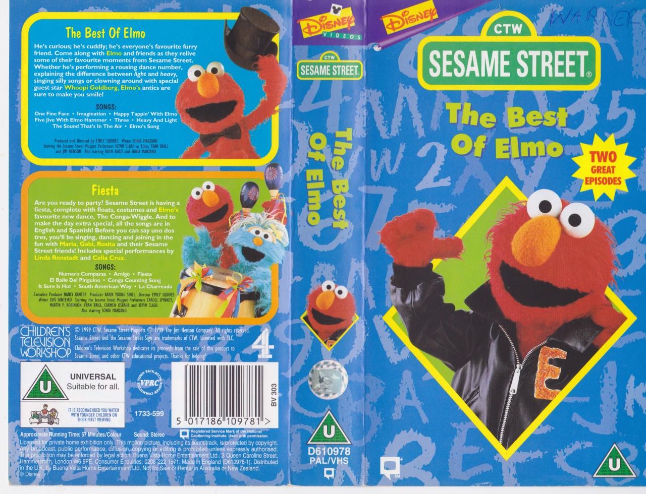 Sesame Street - The Best of Elmo and Fiesta! | Walt Disney Videos