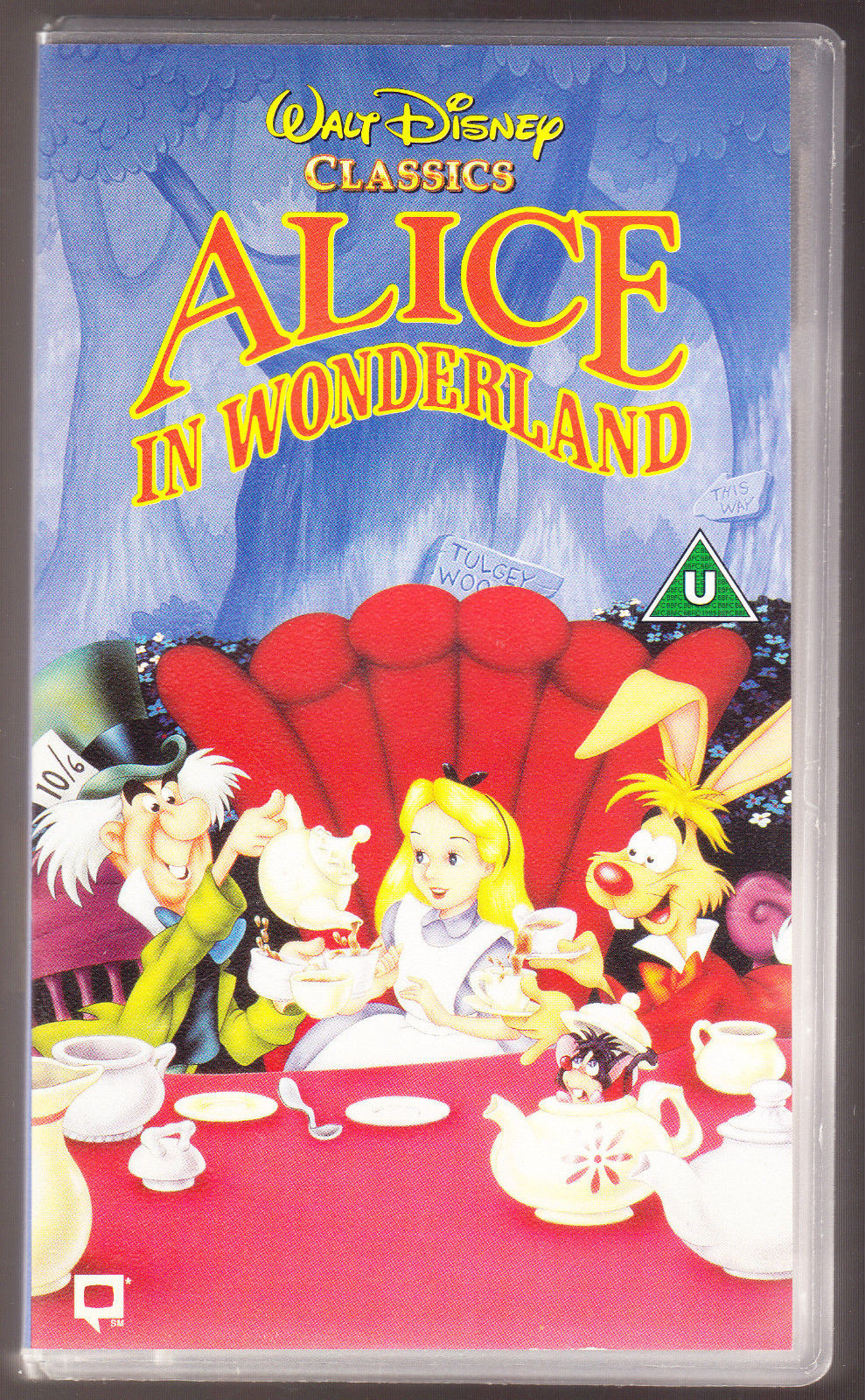 c2eef2bfc Alice in Wonderland (UK VHS 1994)
