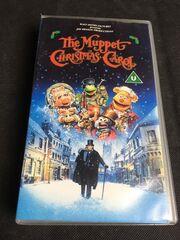 Muppet Christmas Carol Vhs.The Muppet Christmas Carol Walt Disney Videos Uk Wiki