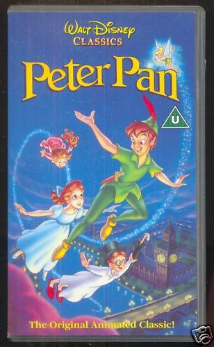 Peter Pan UK VHS 1993