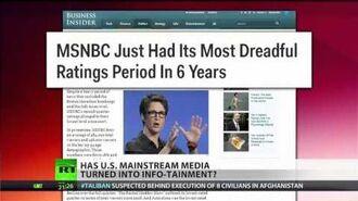 Infotainment kills real news