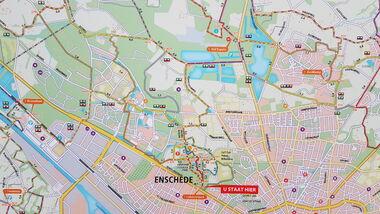 Kaart Ledeboerpark