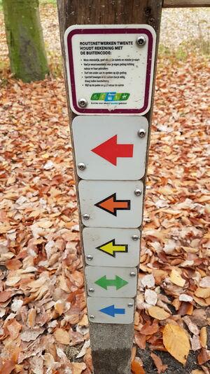 Routes Ledeboerpark 1