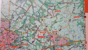 Tankenberg Kaart