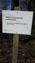 Bord Natuurgebied Deldenerbroek