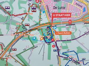 Kaart Poort-Bulten 1
