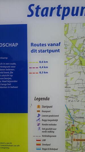 Routes Breklenkamp