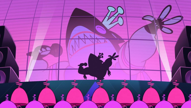 Заядлый тусовщик (скриншот эпизода)