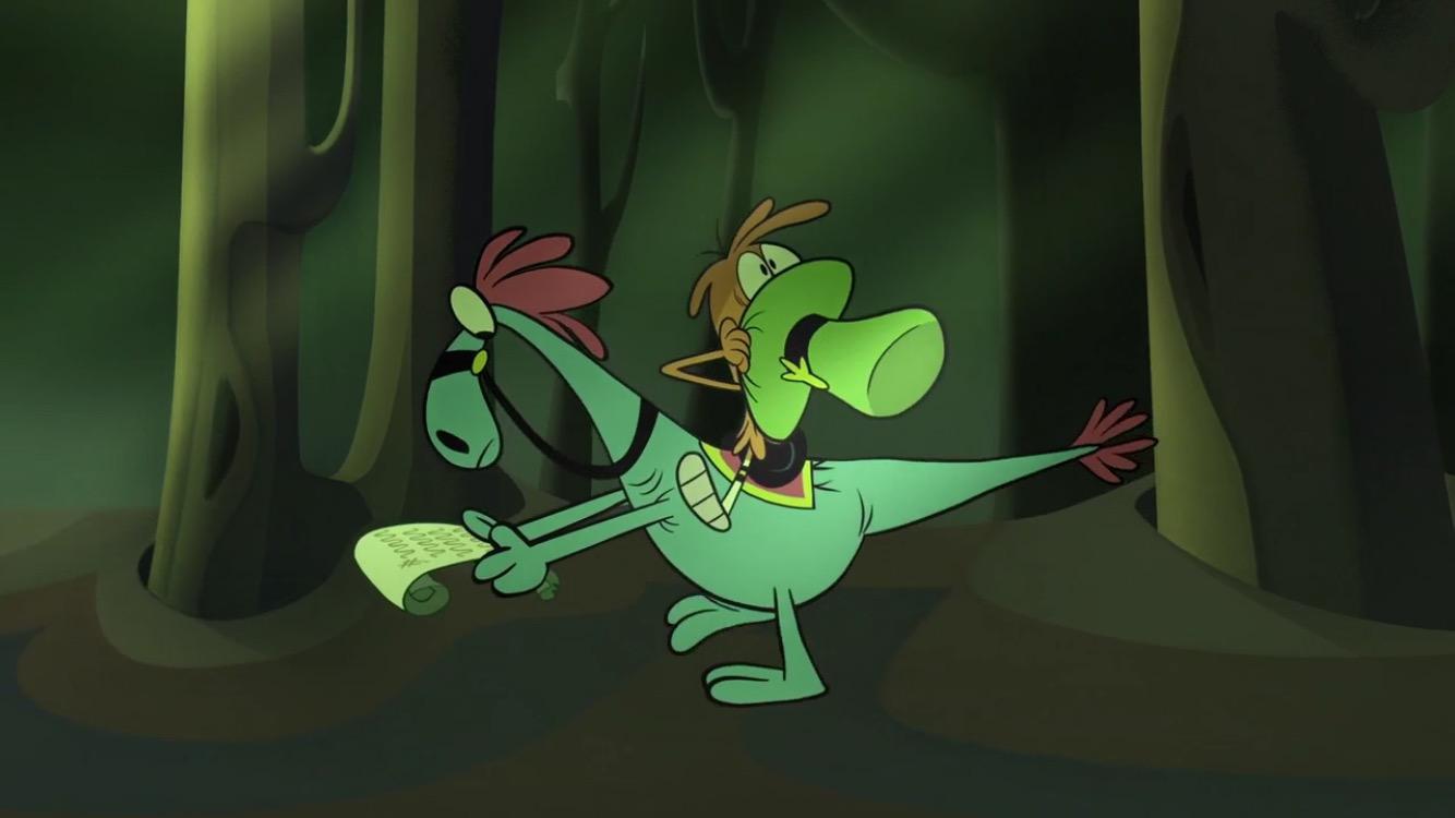Мурашки по коже (скриншот эпизода)