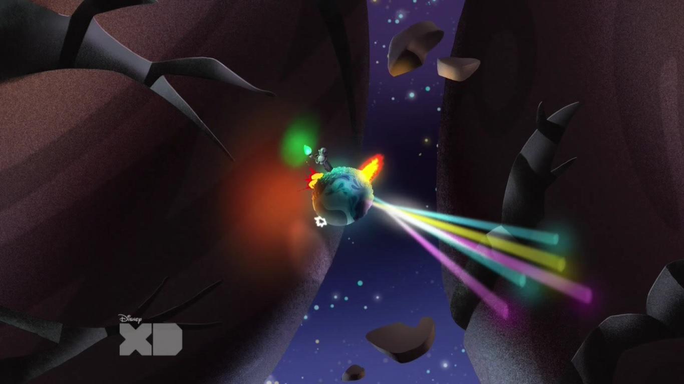 Секретная планета (скриншот эпизода)