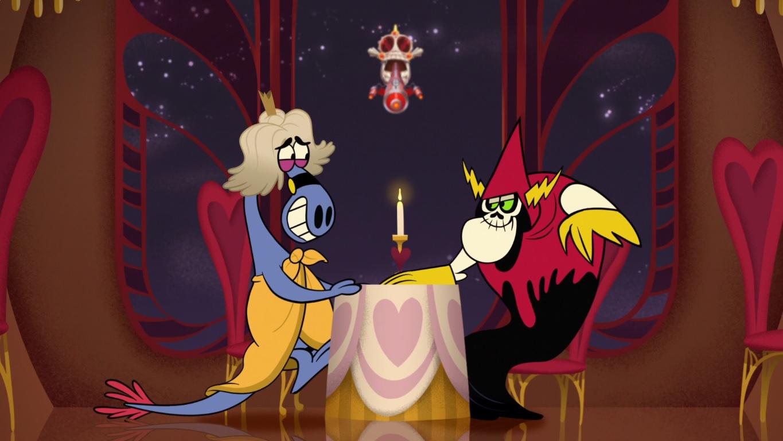 Ужин (скриншот эпизода)