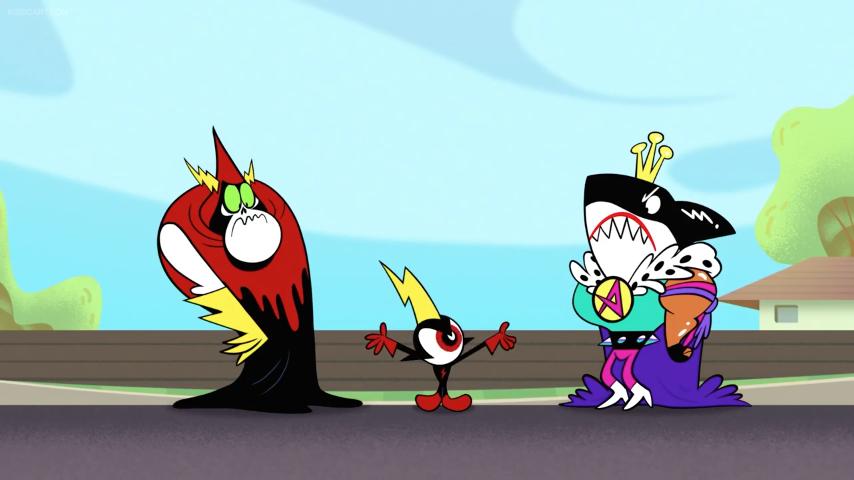 Плохие соседи (скриншот эпизода)