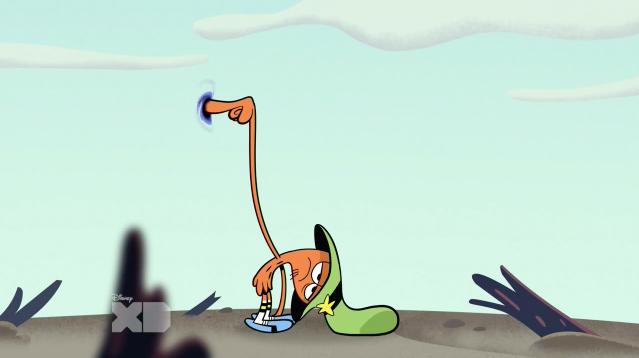 Дырка от бублика (скриншот эпизода)