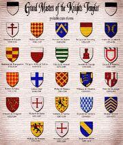 Templar Masters CoAs texturized