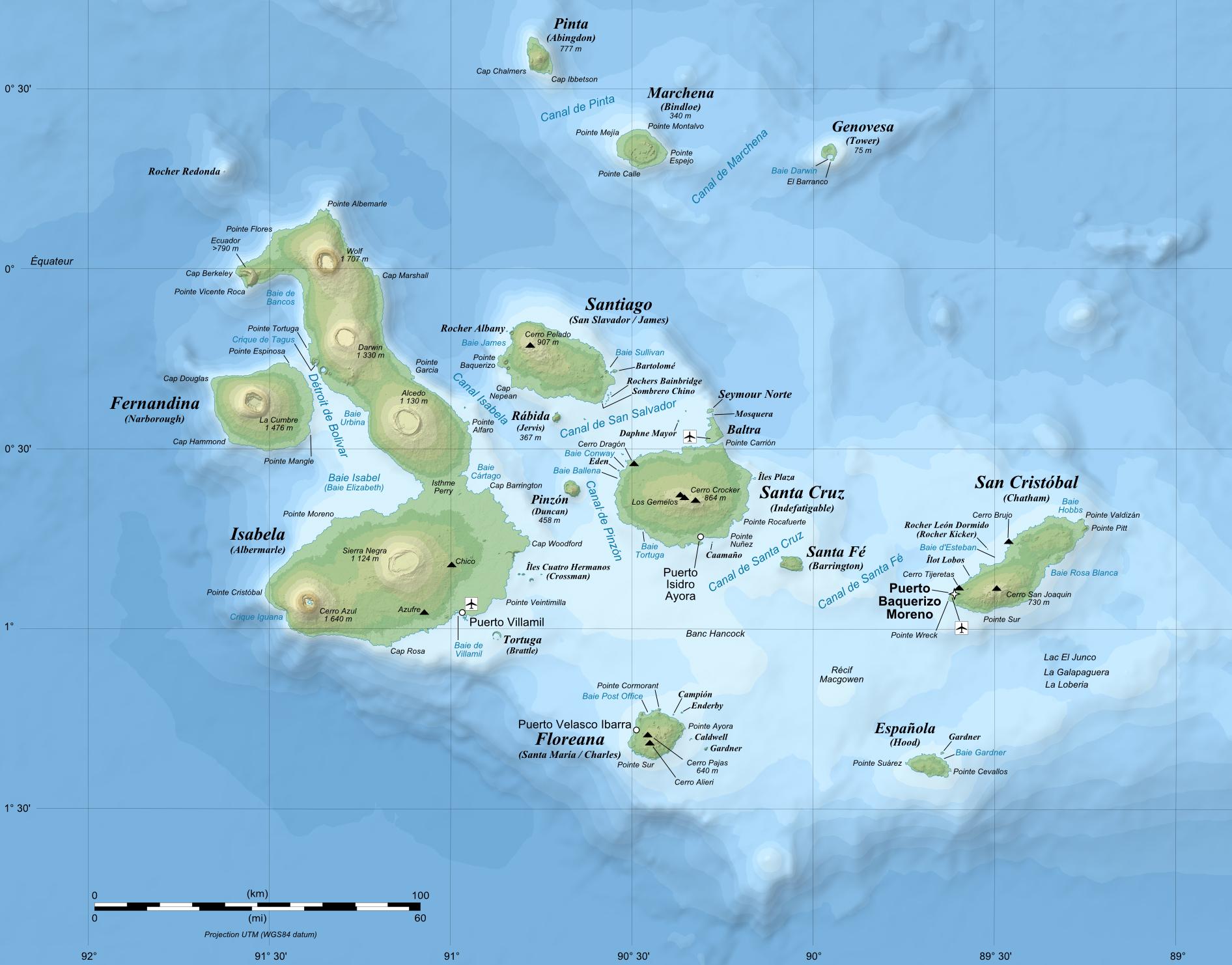 Image Galapagos Mapjpg Wanderlust Wiki FANDOM Powered By Wikia - Galapagos map