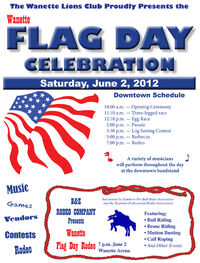 Flag Day Flyer 2012