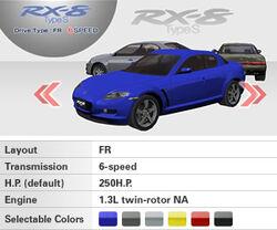 RX-8 select