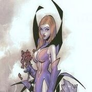 A picture from the comics of Deadly Nightshade