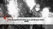 Earn Fire Eaters Shrapnel Storm