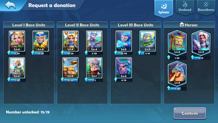 Guild donation request a donation