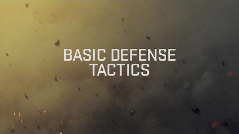 Basic Defense Tactics