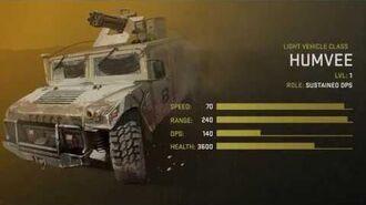 Humvee Unit Spotlight