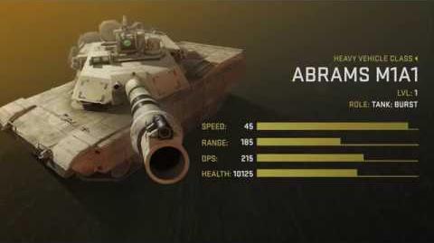 Abrams M1A1 Unit Spotlight