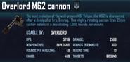 M62 cannon
