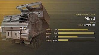 M270 Unit Spotlight