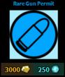 Rare Gun Permit