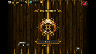 Tournament entry