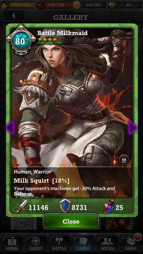 Milkmaid 80