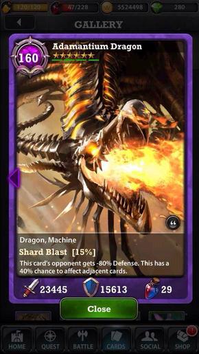 Adamantium Dragon 160